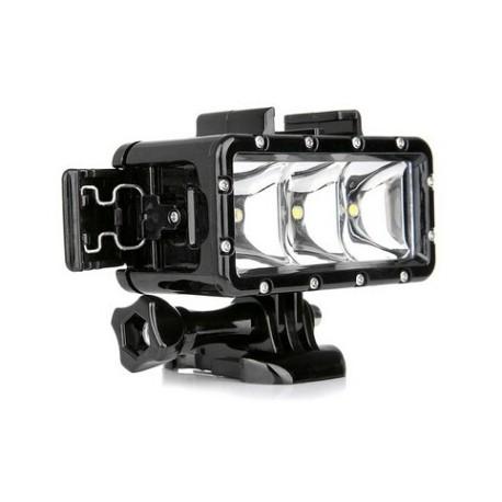 led licht wasserdicht f r action kamera gopro hero4 sj4000 sj5000 yx258 4k 1080p siliceo. Black Bedroom Furniture Sets. Home Design Ideas
