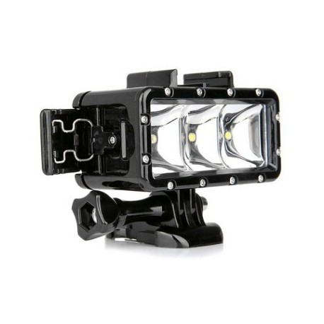 Luz LED sumergible para camara accion Gopro Hero4 / SJ4000