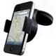 Soporte telefono movil GPS cristal coche ventosa salpicadero