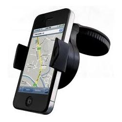 Support de téléphone portable de GPS de verre voiture ventouse tableau de bord