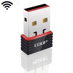 Placa USB WiFi NANO para computador portátil ou PC antena 150mbps