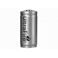 Batteria Ultrafire originale 16340 3.6 V 880mA Protetto PCB CR 123A