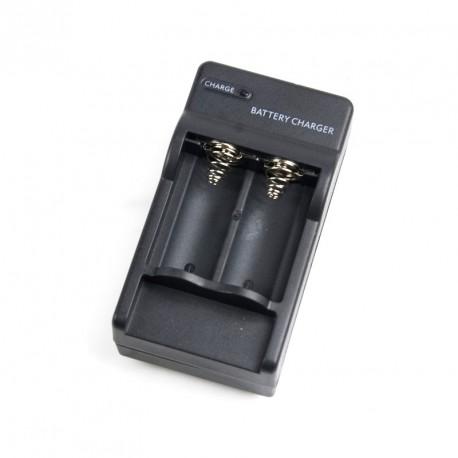 Carregador baterias de lítio 16340 3.7 v. 123A de câmera ou