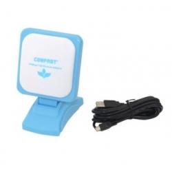 Antena WIFI N 2W 12dbi panel direccional USB 3M Comfast RT3070