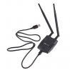 Antenne USB WIFI N 300 mbps 2T2R 2 antennes MIMO 2W 300M