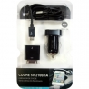 Chargeur voiture micro USB câble + Pomme 2.1 2100mA Une