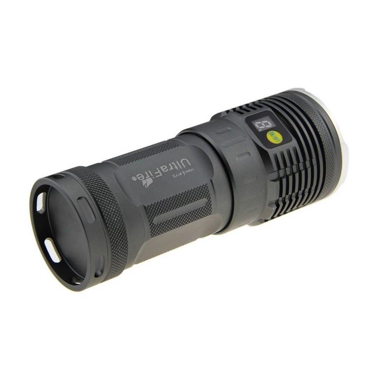 Linterna led muy potente ultrafire u 7l2 6300lm kit for Linterna de led potente