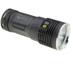 Torcia tactica potente batteria ricaricabile U-3L2 3-LED CREE