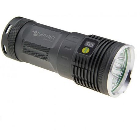 Lanterna tactica potente recarregável U-3L2 3 LED CREE XM-L2