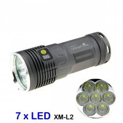 Torcia LED molto potente Torcia XM-L2 U2 6300lm kit ricaricabile