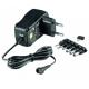 Cargador Universal Bateria 1000mA 1A 3v 4.5v 5v 6v 7.5v 9v 12v
