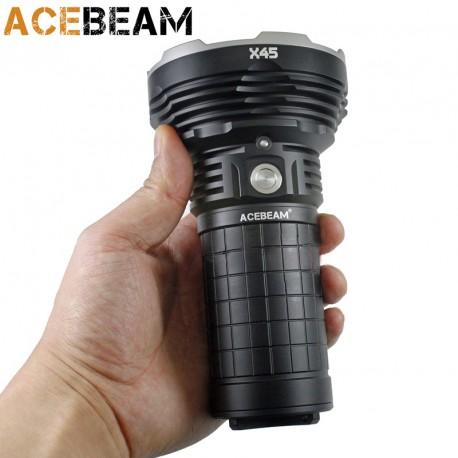 AceBeam X45 lanterna poderosa 16500LM 583 metros baterias incluídas