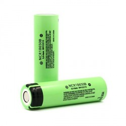 Panasonic NCR18650B 3400mAh batería Li-ion MH12210 recargable