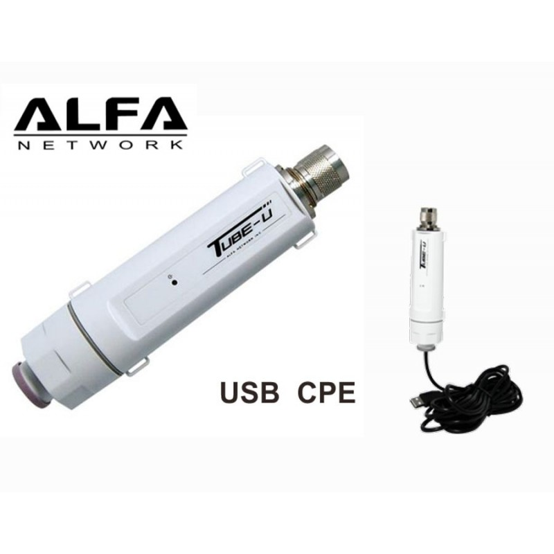 Tube uv cpe usb wifi ext rieur 2 4 ghz realtek rtl8188eu for Antenne wifi sectorielle exterieur