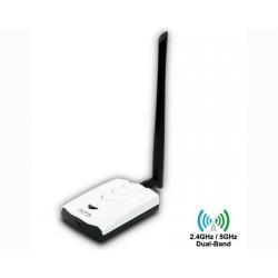Alfa AWUS052NHS 2.4Ghz / GHz antena Wi-Fi USB adaptador de red RT3572
