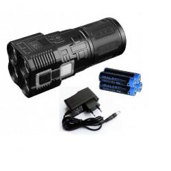 Imalent DDT40 puissant 5680 lumenes lampe de poche rechargeable KIT complet avec piles