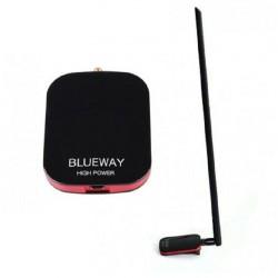 Antenne WIFI 3 000 mw 18dbi adaptateur USB puissant Blueway