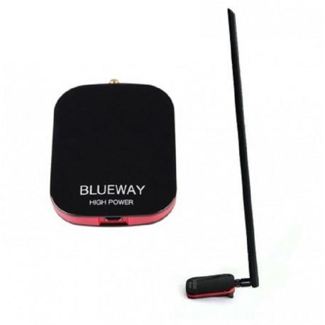 Antena WIFI 3000mW 18dbi adaptador USB potente Blueway N9600