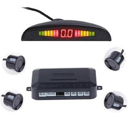 Radar di parcheggio sensore parcheggio posteriore LCD LED di