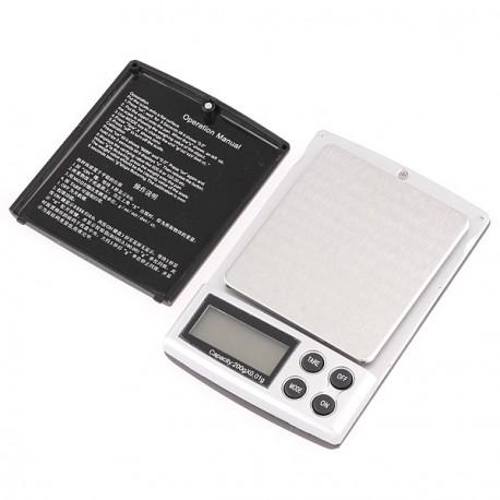 Bascula precision digital 0,01g pesa 200g Balanza electronica