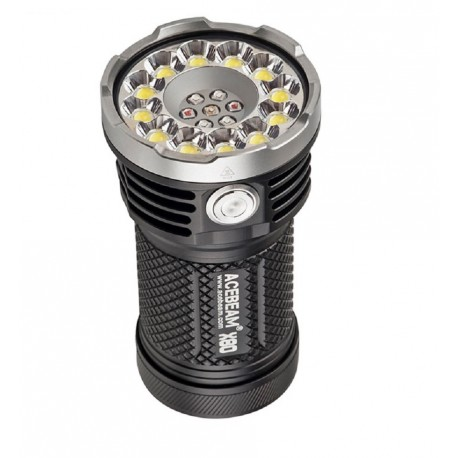 Acebeam X80 Linterna muy potente fotografía RGB 12 LED XHP50.2