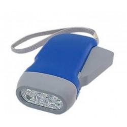 Dynamo torcia LED ricaricabile batteria nessuna batteria tasca