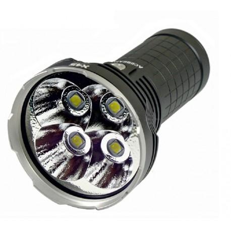 AceBeam X45 Linterna potente 18000LM haz alcance 622 Metros