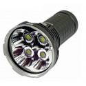 AceBeam X45 Lanterna potente 18000LM feixe alcance 622 Metros Pilhas Incluídas