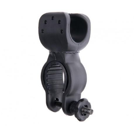 Armação de suporte para lanternas bicicleta Pinça giratória