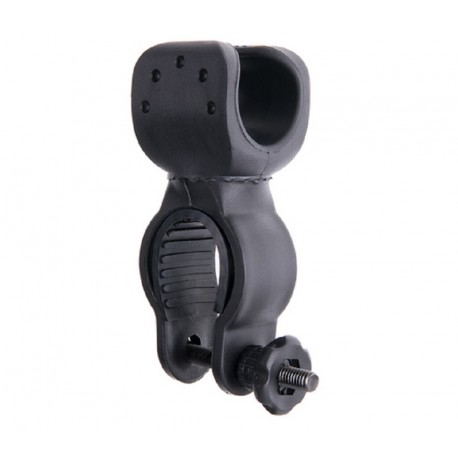 Bajonett-halterung für taschenlampen, fahrrad Klemme 360 °