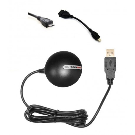 GPS para o seu tablet android micro USB Globalsat SIRF IV 353 cabo
