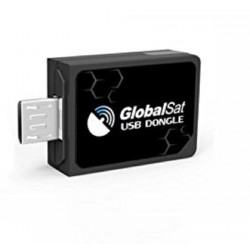 Globalsat ND-105C Receiver, GPS antenna for micro-USB Android