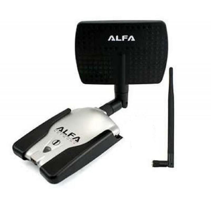 adaptateur wifi alfa awus036h usb sma panneau de 7dbi 1w directionnelle. Black Bedroom Furniture Sets. Home Design Ideas