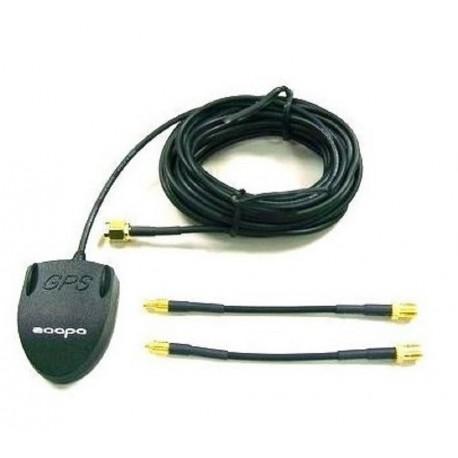 Antenna GPS universale con cavo di 5m con connettore SMA MMX