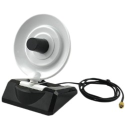 Antenne WiFi 10 dbi paraboles yagi directionnelle radar câble SMA
