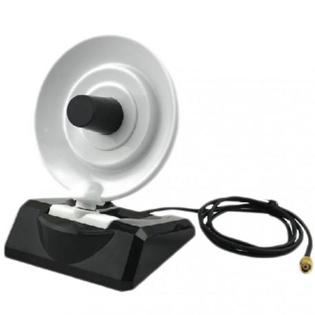 Antena WiFi 10 dbi parabolica yagi direccional radar cable SMA