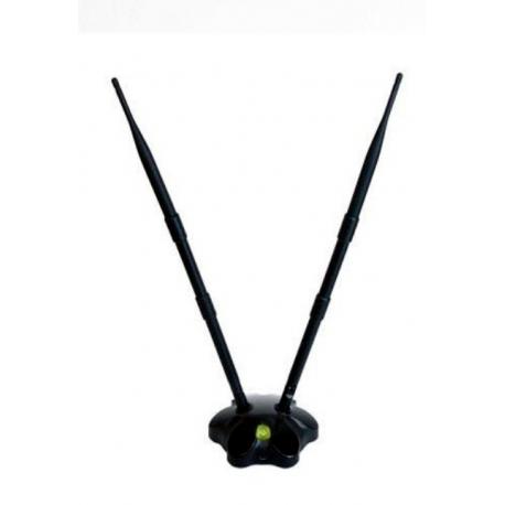 300Mbps WIFI USB Widemac WM-9005 2000M 1W 100MW antena Mimo 1T2R