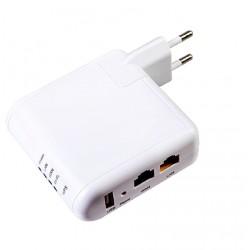 Repetidor wi-fi tomada roteador 3G USB para modem de internet