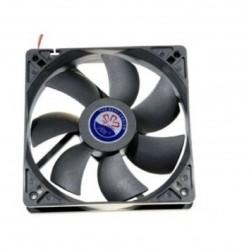 Ventilador CPU placa base ordenador PC 12v 80mm 8cm 3pin fan