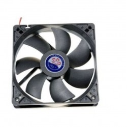 Ventilateur du CPU de la carte mère de l'ordinateur PC 12v 80mm 8cm 3pin fan