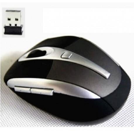 Optical Wireless Mouse Mice + USB-Empfänger schlank für PC