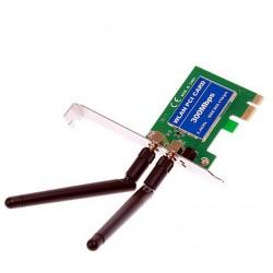 WLAN-karte PCI-E pci-Express 300 mbit / s n 2 antennen MiMo