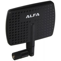 Antena Panel WIFI Alfa APA-M04 7dbi direccional 2.4ghz SMA