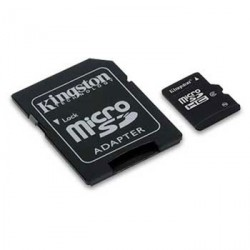 Tarjeta de memoria micro SD de 32 GB Kingston SDC4/32GB clase 4
