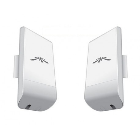 Ubiquiti NanoStation locoM2 KIT 2 units connect WIFI 2 houses
