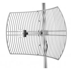 Antenne WIFI paraboles calandre Alfa AGA-2424T 24dBi Grille N
