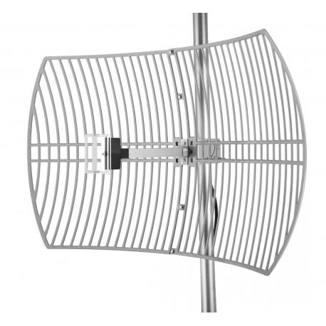 WIFI-antenne satelliten-gitter Alfa AGA-2424T 24dBi Grid N