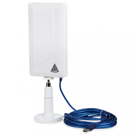 MELON N89 antena wifi 24dbi 2000mw panel USB 10m impermeable