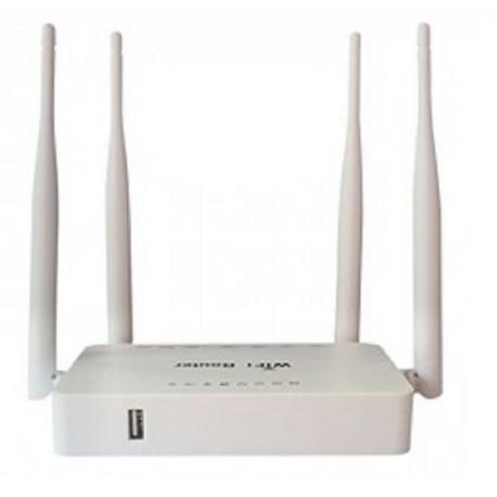 Routeur Openwrt USB MTK7620N 4 antennes Répéteur WIFI 300 mbps