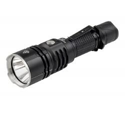 L16 Taschenlampe Wiederaufladbar durch USB-2000LM XHP35 reichweite 600 m